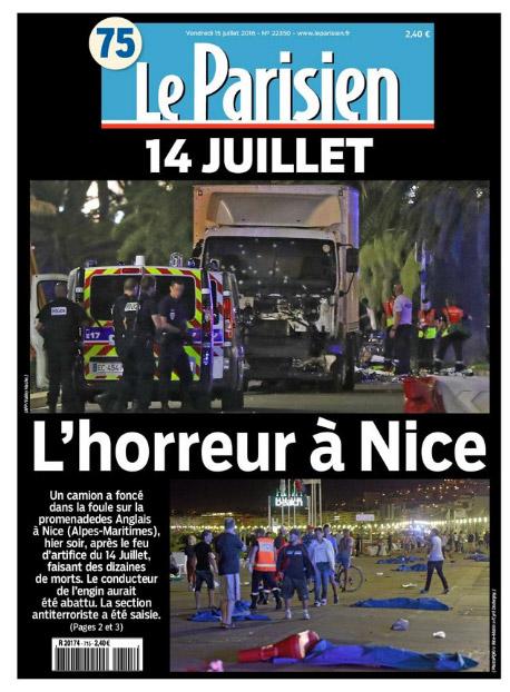 Vos réactions à l'attentat de Nice et le camion fou qui tue massivement