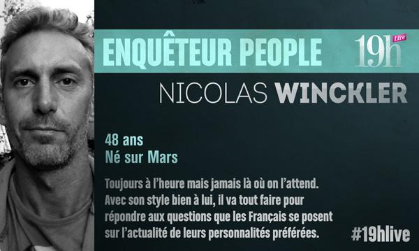 Avis et commentaires sur 19H Live avec Nicolas Winckler sur TF1