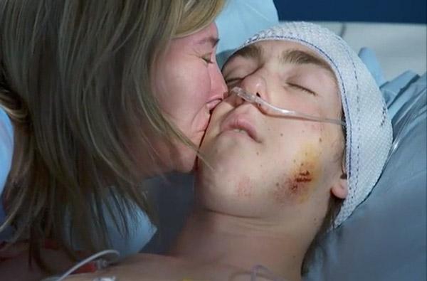 Laetitia mère meurtrie face à Kevin dans le coma