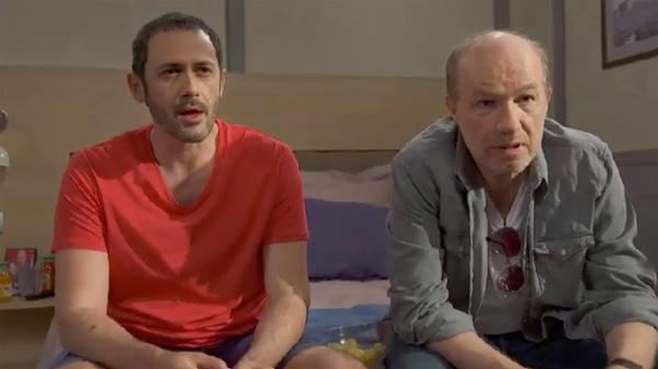 Francesco tente d'être à fond devant le programme TV de Leo #PBLV