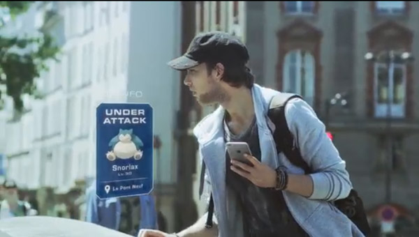 Pub Pokémon Go avec sylvain de LMDLA / vous aimez son look de jeun's  ?  ;)