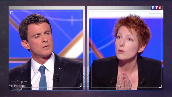 Valls vs Polony : le débat rythmé dans Vie Politique