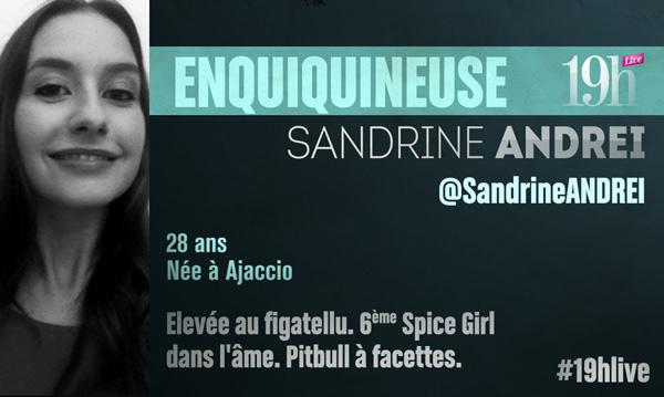 Vos avis et commentaires sur Sandrine Andrei dans le 19h Live de TF1
