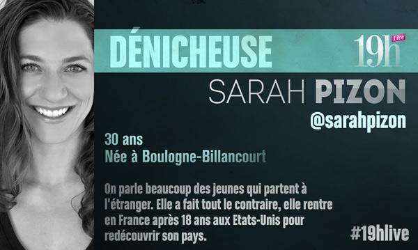 Vos avis sur le 19h Live avec Sarah Pizon sur TF1