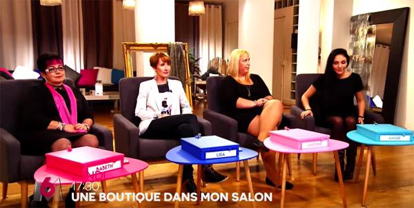 Les candidates et marques des produits une boutique dans mon salon M6 du 8 au 12/08/2016