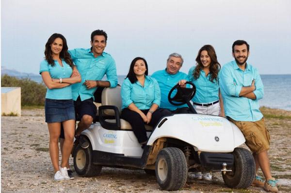 La nouvelle équipe de Camping Paradis saison 8 au complet