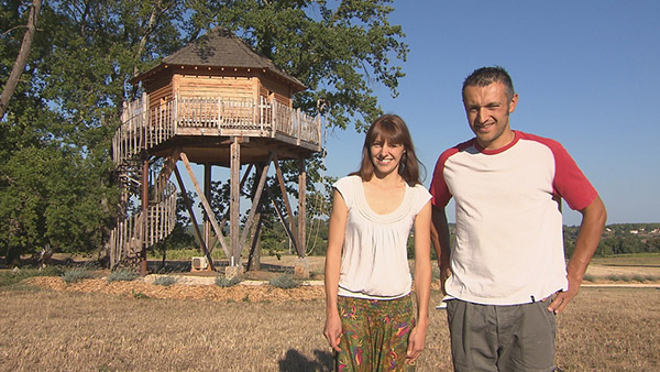 Avis et adresse des cabanes de Céline et Rémi de Bienvenue chez nous