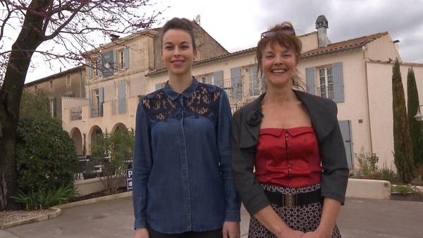 Vos avis et commentaires sur l'hôtel de Chantal et Athina de Bienvenue à l'hôtel / Photo TF1