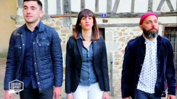Marina, Julien et Romain à Limoges pour Chasseurs d'appart sur M6