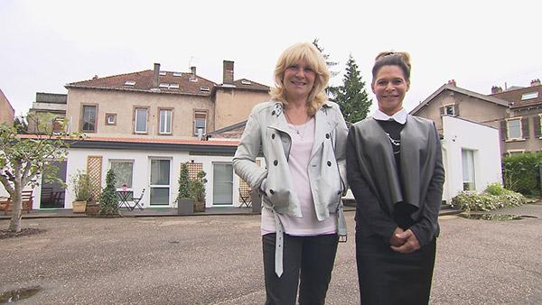 Avis et adresse de la maison d'hôtes d Corinne et Marie France de Bienvenue chez nous  / Crédit photo TF1