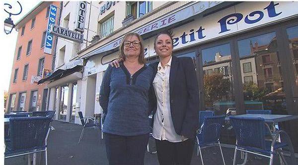 Vos avis et commentaires sur l'hôtel de Daliane et Perrine dans Bienvenue à l'hôtel / Photo TF1