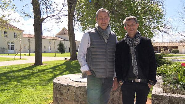Avis et commentaires sur l'hôtel de Franck et Thierry dans Bienvenue à l'hôtel / Photo TF1