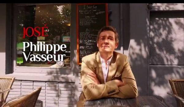 José / Philippe Vasseur est au générique : on le voit en terrasse de café
