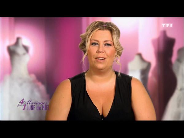 Avis et commentaires sur Jennifer dans 4 mariages pour 1 lune de miel sur TF1 du 22 au 26/08/2916