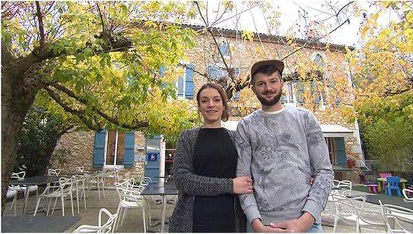 Avis et commentaires sur l'hôtel de Julie et Simon dans le 40 pour Bienvenue à l'hôtel / Photo TF1