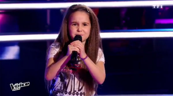 Manuela la pépite de The voice Kids 2016