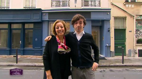Avis et commentaires sur l'hôtel de Nassima et Yanis en plein Paris