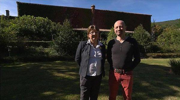 Avis et commentaires sur Nathalie et Blaise avec leur hôtel sur TF1 / Photo TF1