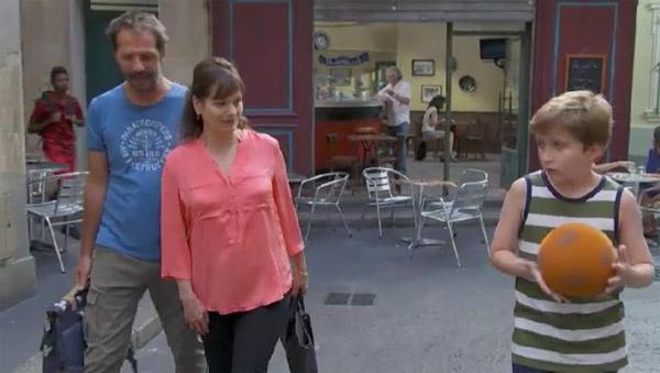 Blanche, Franck et Noé réunis pour la rentrée scolaire