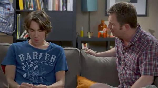 Kevin est dégoûté, il raconte un peu de sa déception amoureuse à son père