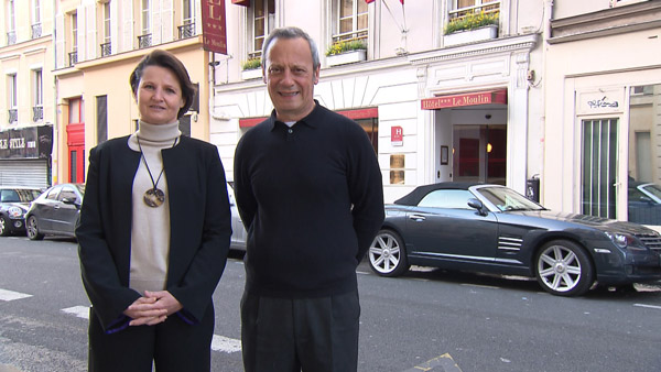 Avis et commentaires sur Sandrine et Guy : les avis et l'adresse de leur hôtel de Bienvenue à l'hôtel / Photo TF1