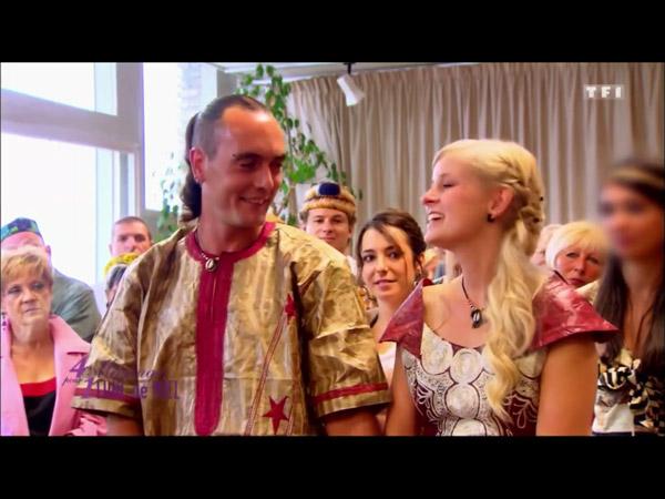 La cérémonie de Sophie et Damien sans robe de mariée blanche