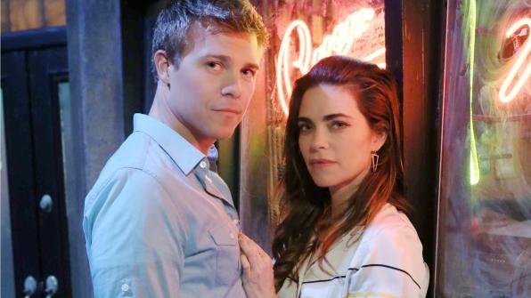 Victoria et Travis dans les feux de l'amour : nouveau couple à venir / Photo CBS