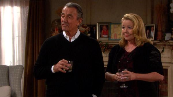 Victor et Nikki seuls et abandonné de tous pour Thanksgiving - les feux de l'amour