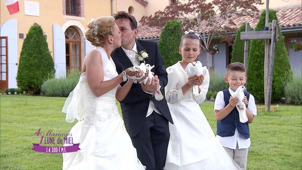 Elisabeth et Philippe : vos avis sur le mariage de 4 mariages pour 1 lune de miel / Photo TF1