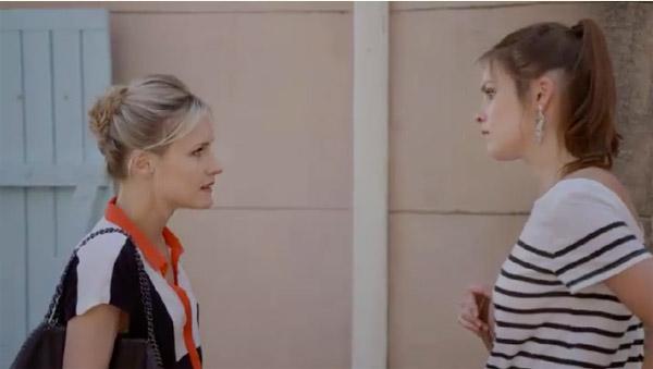 Eugénie tente de raisonner Maud sur le prêt pour la salle de sport
