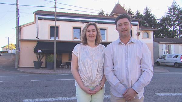 Avis et commentaires sur l'auberge de Béatrice et Arnaud de Bienvenue à l'hôtel / Photo TF1