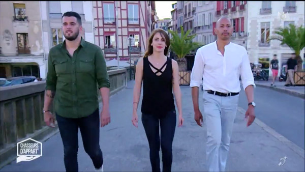Chasseurs d'appart du 26 au 30/09/2016 direction le pays basque