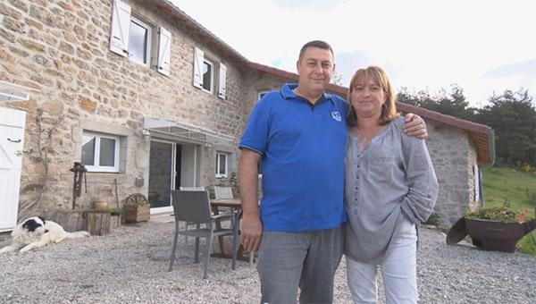 Les avis et commentaires sur la maison d'hôtes de Claire et Richard de Bienvenue chez nous / Photo TF1