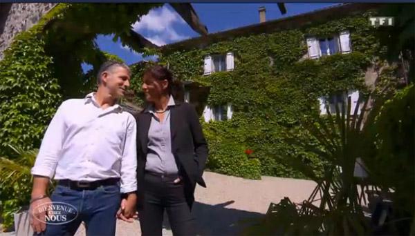 Avis et commentaires sur Corinne et Jean François de Bienvenue chez nous / Capture écran