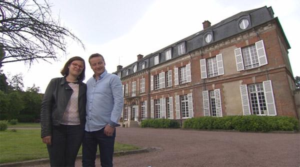 Vos avis et commentaires sur le château d'Emilie et Patrick dans Bienvenue chez nous / Photo TF1