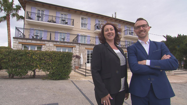 Les avis et commentaire sur l'hôtel de Federica et Maxime de #bienvenuealhotel / Photo TF1
