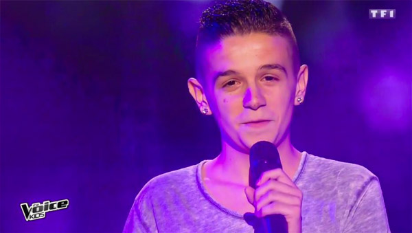 Jason a conquis le jury The Voice Kids 3