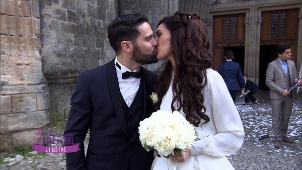 Vos commentaires sur Johanna et Grégory dans 4 mariages pour 1 lune de miel / photo TF1