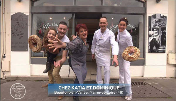Gagnants la meilleure boulangerie de france 23/09/2016 /Photo M6
