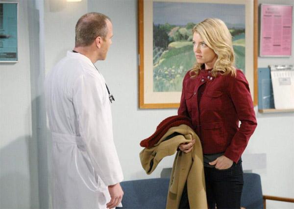 Kelly et Stitch cachent un lourd secret dans les feux de l'amour / Photo CBS