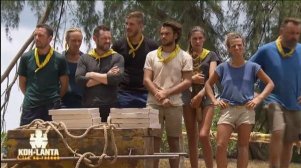 Changement d'équipe dans Koh Lanta l'île au trésor #KohLanta