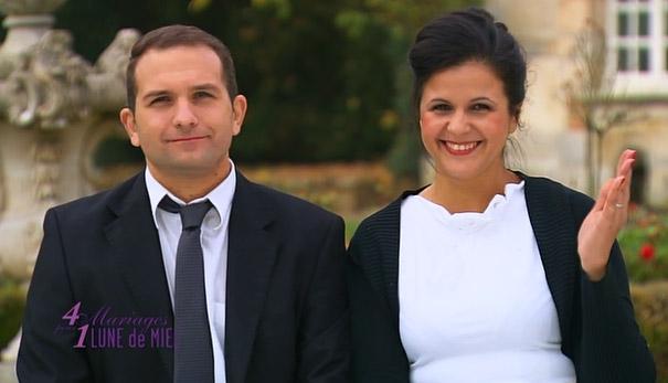 Vos avis et commentaires sur le mariage de Nora et Christophe dans #4MP1LDM / Photo TF1