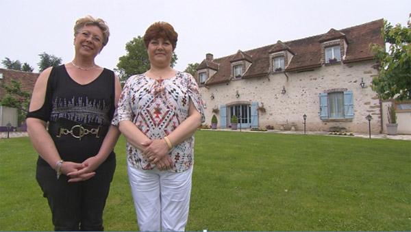 Avis et commentaires sur la maison d'hôtes de Maril et Lydie de Bienvenue chez nous / Photo TF1