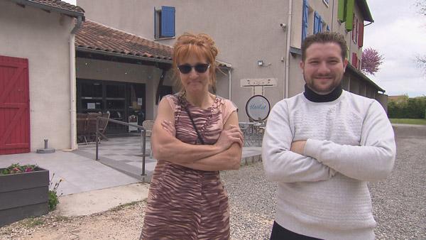 Vos avis et réactions sur l'auberge de Nancy et Jason dans Bienvenue à l'hôtel / Photo TF1