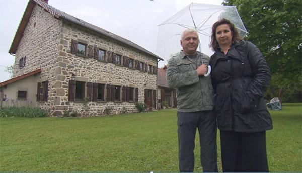 Avis et commentaires sur la maison d'hôtes de Nathalie et Philippe dans Bienvenue chez nous / Photo TF1