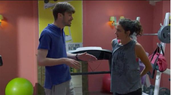 Emma se drogue avec Luca pour améliorer ses performances