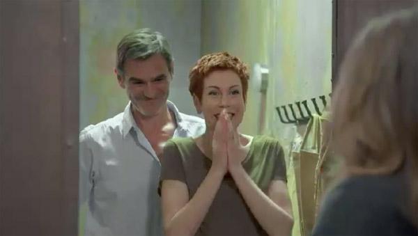 Le bonheur de Babeth et Patrick pour l'arrivée de lea