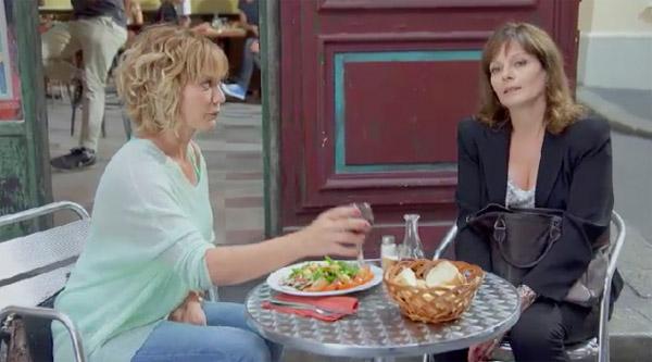 Confidences entre Wendy et Blanche