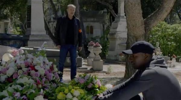 Leo retrouve Djawad au cimetière