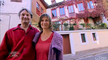 Avis et commentaire sur la maison d'hôtes de Solyne et Michel de Bienvenue chez nous / Photo TF1